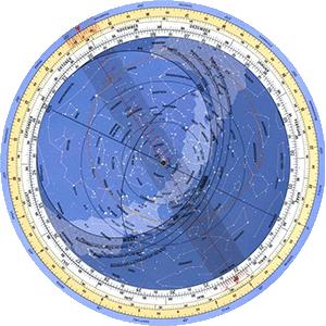 Rotating Star Map