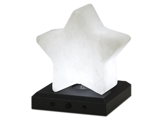 Estrela de cristal de sal