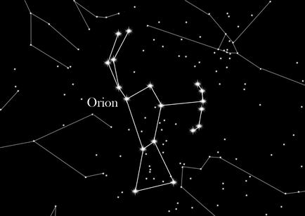 Constellation Orion