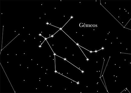 Resultado de imagem para gêmeos signo constelação